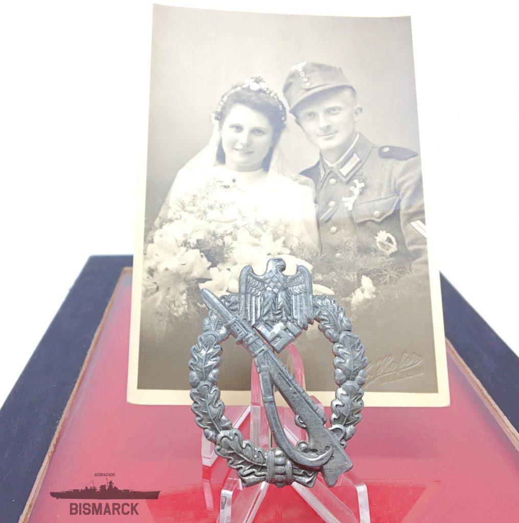 Distintivo Asalto de Infanteria con Fotografia