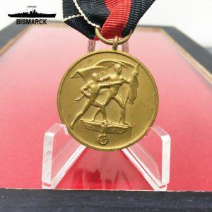 Medalla por la Anexión de los Sudetes ref01