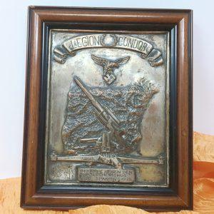 Cuadro Conmemorativo Legión Condor