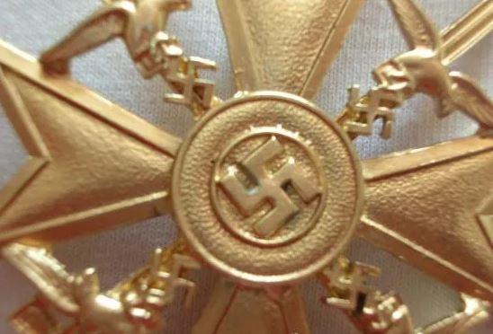 spanienkreuz oro revers