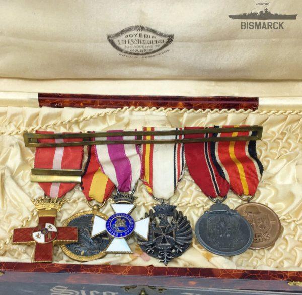 Pasador Medallas de la División Azul