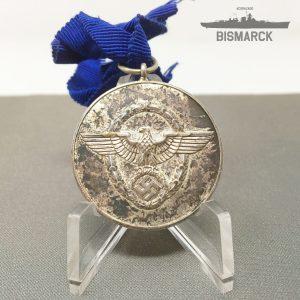 Medalla por 8 años de Servicio en la Policia