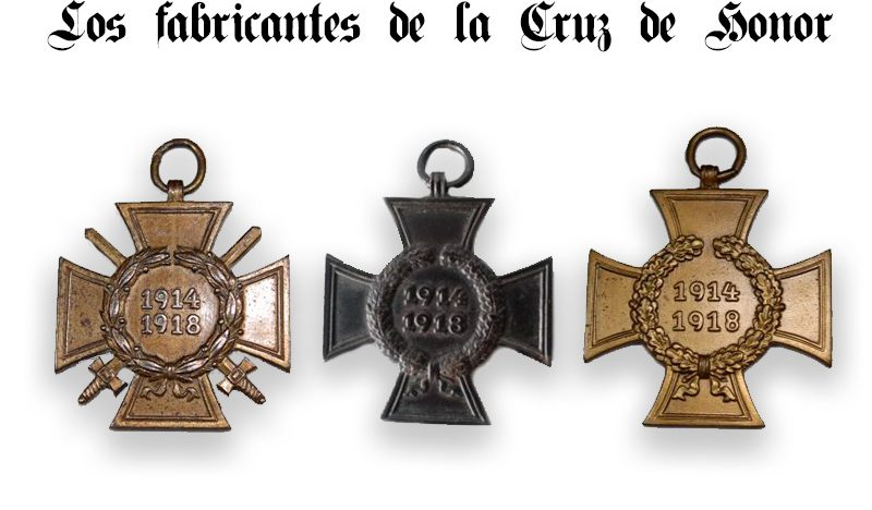 fabricantes cruz de honor
