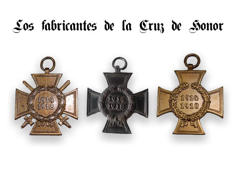 fabricantes cruz de honor
