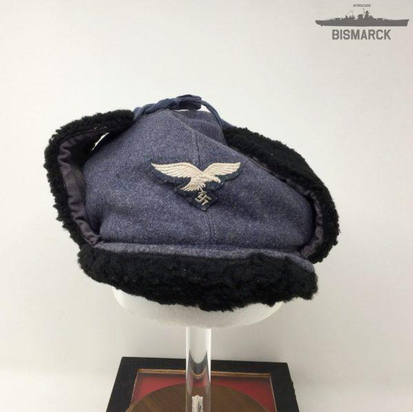Gorra de invierno de la Luftwaffe