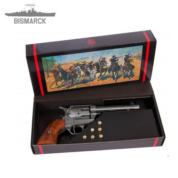Revólver Cal.45 con 6 balas