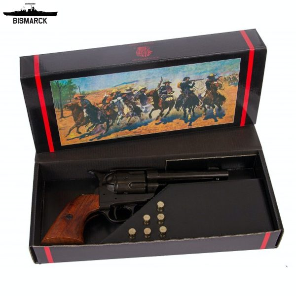 revólver cal. 45 peacemaker set