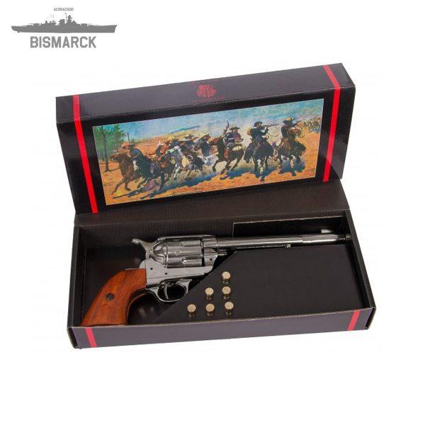 Revólver cal 45 de caballería con 6 balas