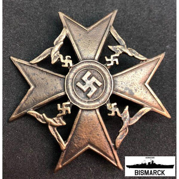 Cruz Española categoría bronce