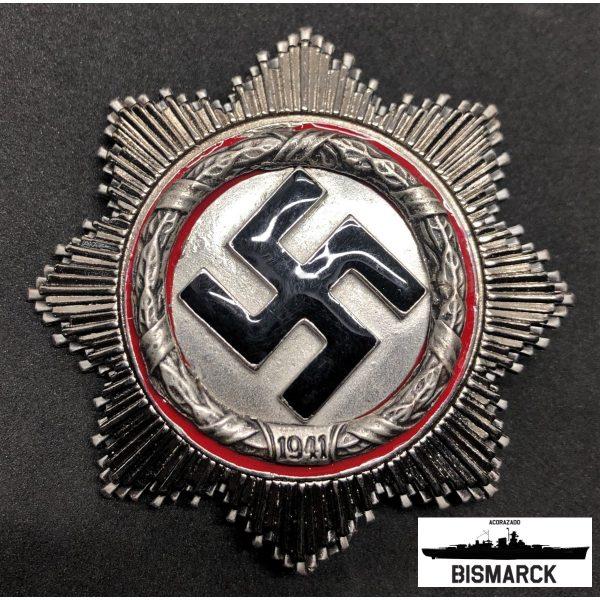 cruz alemana en plata