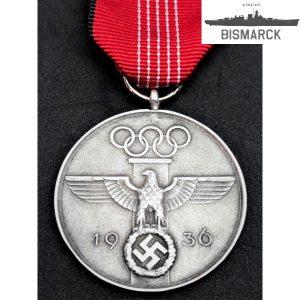 Medalla conmemorativa juegos olímpicos 1936
