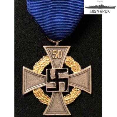 servicio fiel al estado 50 años