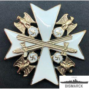 orden del águila alemana con espadas