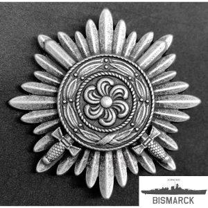 medalla ostvolk con espadas