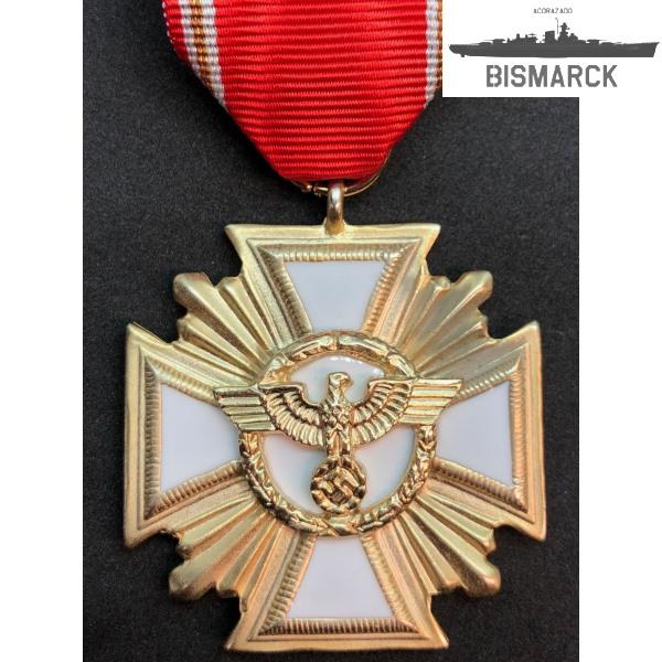 medalla al servicio en el NSDAP 25 años