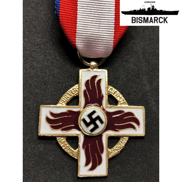 medalla al mérito de bomberos