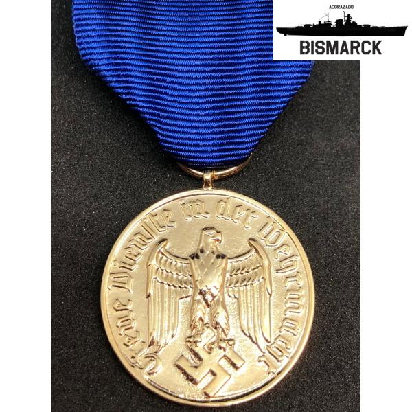 medalla al servicio 18 años