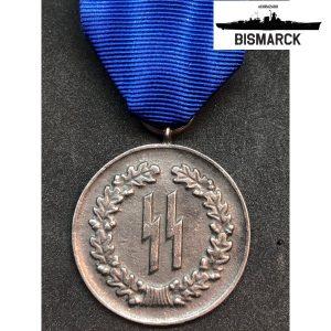 medalla al servicio de las SS 4 años