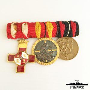 Pasador Medallas Legión Cóndor