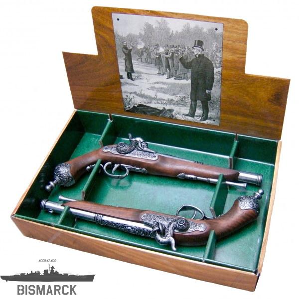 pistolas italianas de duelo