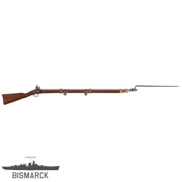 fusil con bayoneta