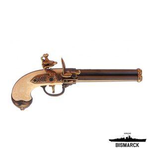 pistola de chispa 3 cañones