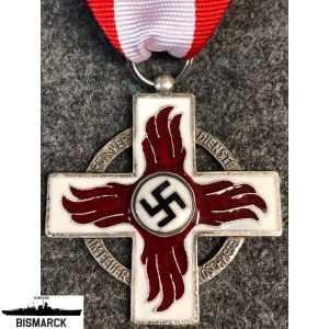 medalla al mérito de bomberos 2ª clase