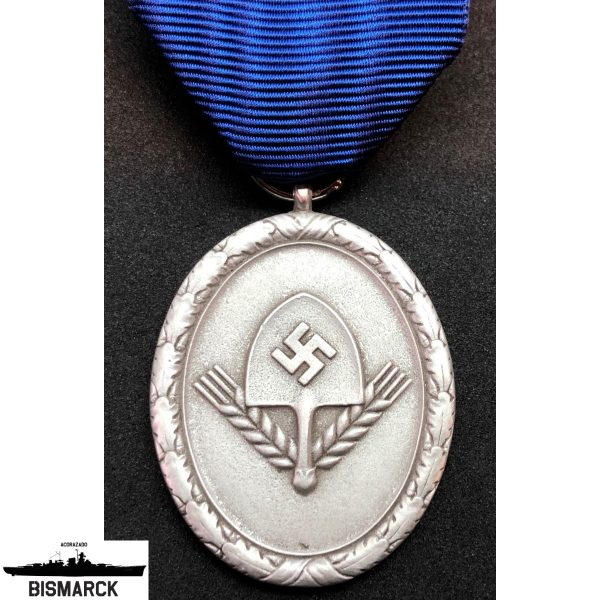 medalla al servicio del RAD 2ª clase
