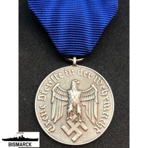 medalla al servicio 4 años
