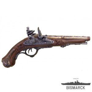 pistola de chispa de 2 cañones