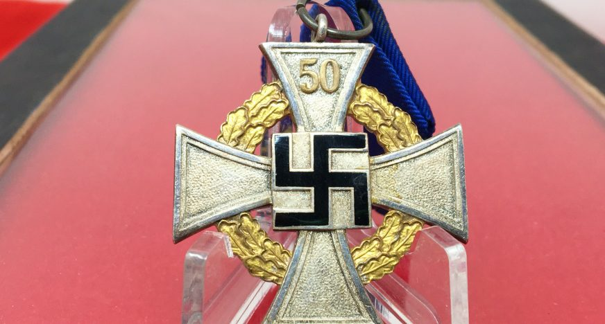 Medalla 50 años Leal Servicio