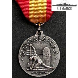 Medalla Batalla de Guadalajara