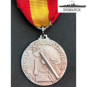 Medalla Batalla de Santander