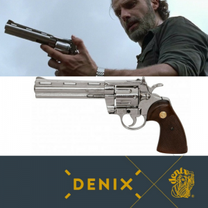 revolver Colt Python The Walking