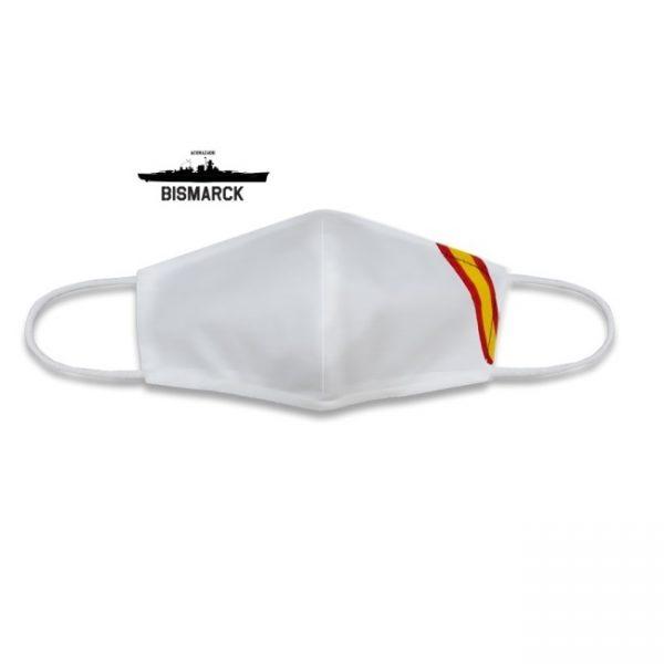 Mascarillas Homologadas Blancas Bandera