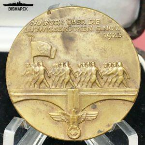 Medalla Marcha sobre el Ludwigsbrücken