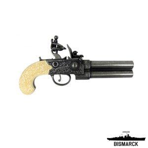Pistola de chispa reino unido negra