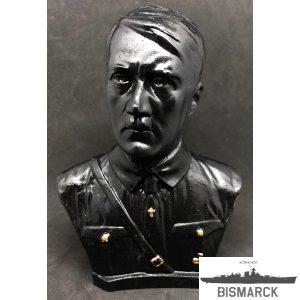 busto adolf hitler uniforme
