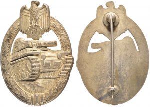 panzerkampfabzichen insignia