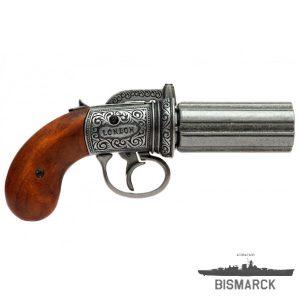 revolver pimentero 6 cañones
