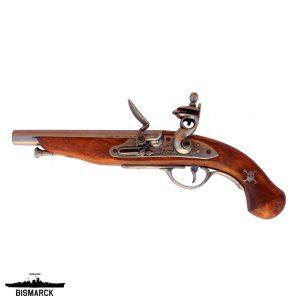 Pistola de chispa pirata Francia