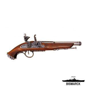 Pistola de chispa pirata