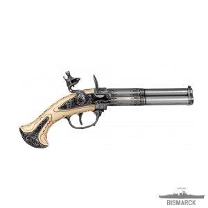 pistola 3 cañones giratorios