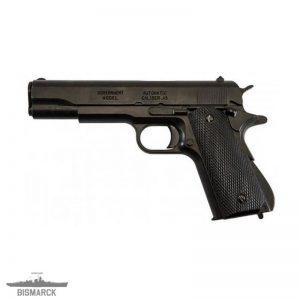pistola automática M1911A1 negra