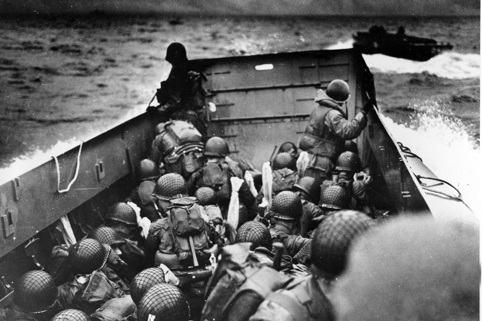 El día D: las playas del desembarco de Normandía