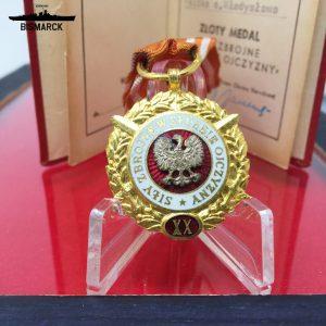 Medalla 20 años de Servicio