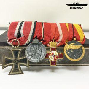 Pasador 4 Medallas