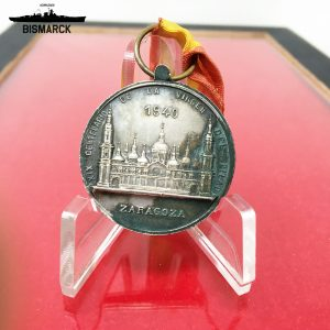 Medalla XIX Centenario Virgen del Pilar