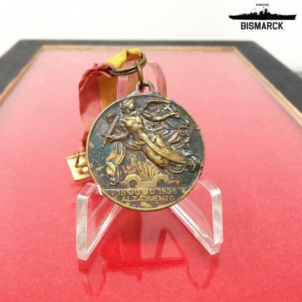 Medalla Alzamiento y Victoria 1936