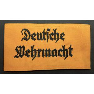 Brazalete Deutsche Wehrmacht